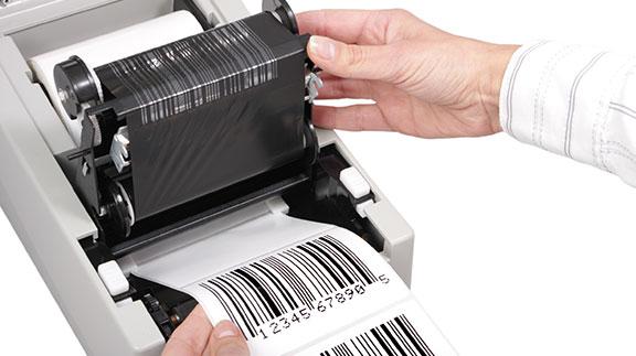 transfert thermique étiquette industrielle