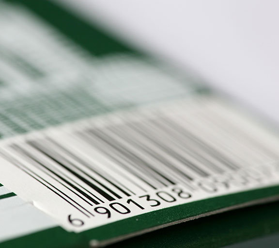 barcode étiquettes