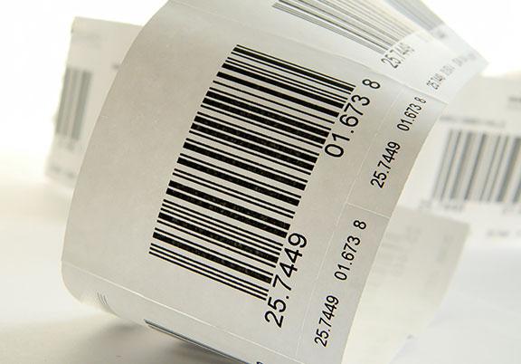 étiquetage de produits code-barre