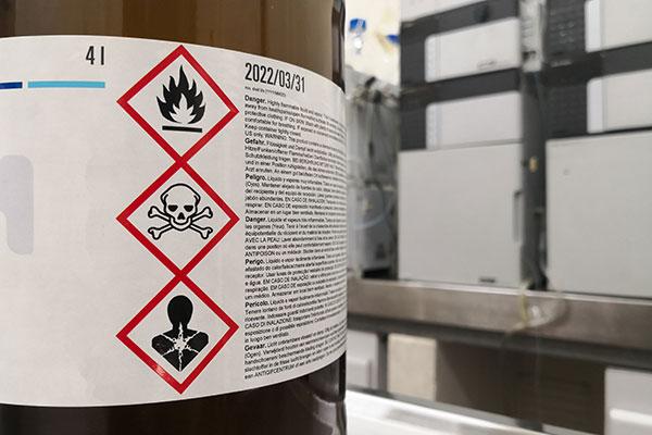 étiquetage industriel CLP