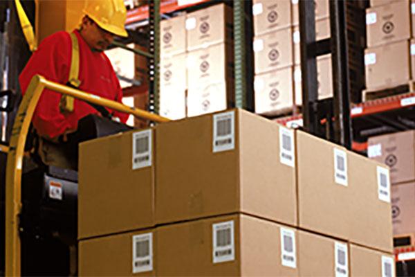 étiquetage industriel emballages
