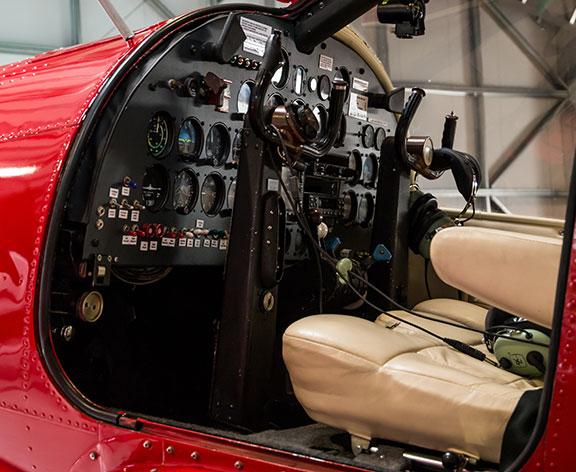 étiquette aéronautique cockpit