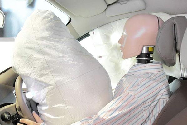 étiquette automobile Airbag