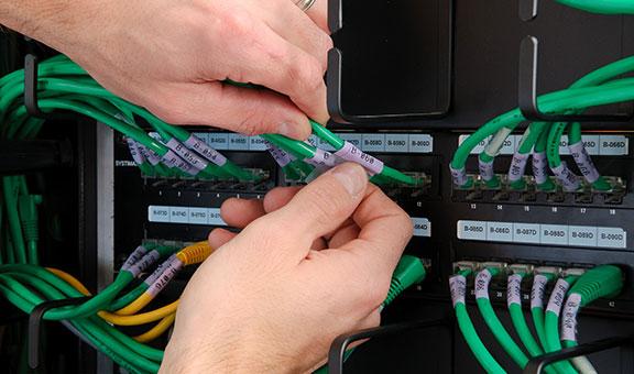étiquette câble auto-protégé