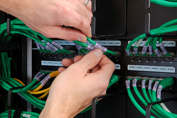 étiquette câble Brady