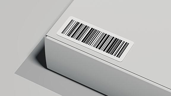 étiquette code-barres 1D