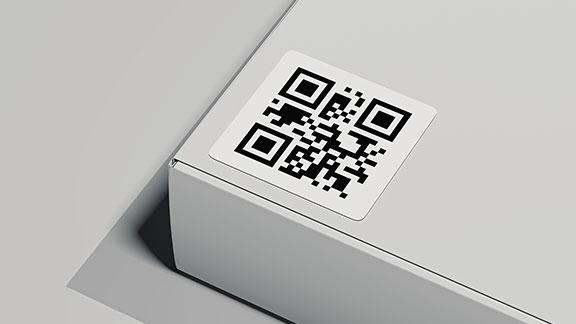 étiquette code-barres 2D