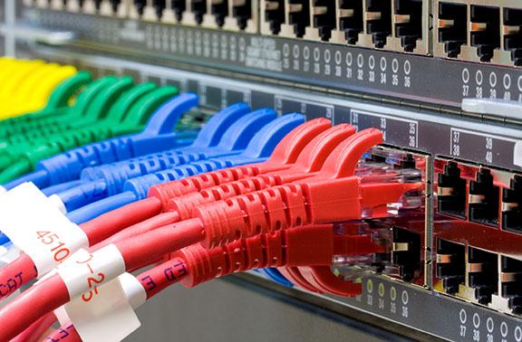étiquette de câble adhésive