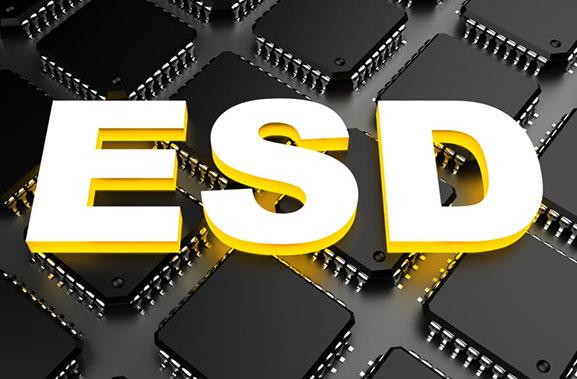 étiquette électronique ESD