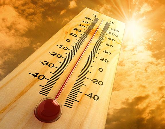 étiquette industrielle résistante température