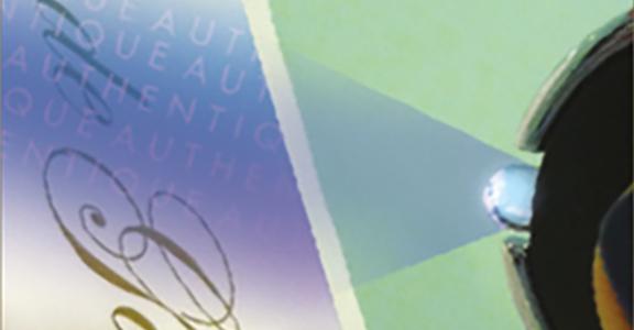 étiquette inviolable contrôle UV