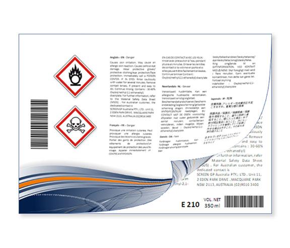 étiquette livret CLP