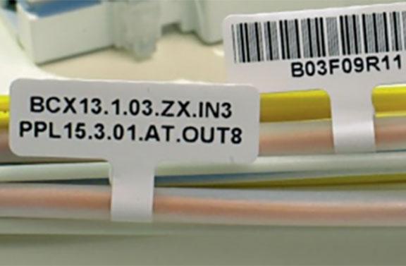 étiquette marquage câble