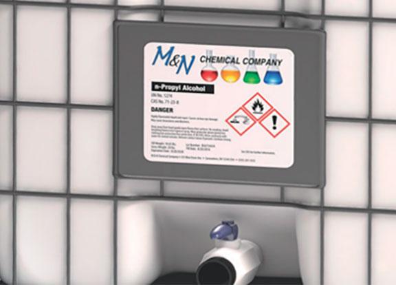 étiquette produit chimique VRC