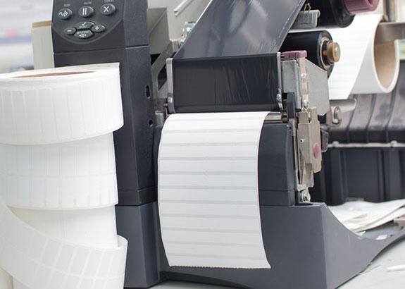 étiquette thermocollante imprimante