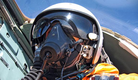 étiquette aéronautique visière