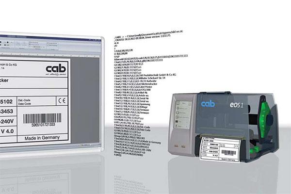 Cablabel logiciel code barres