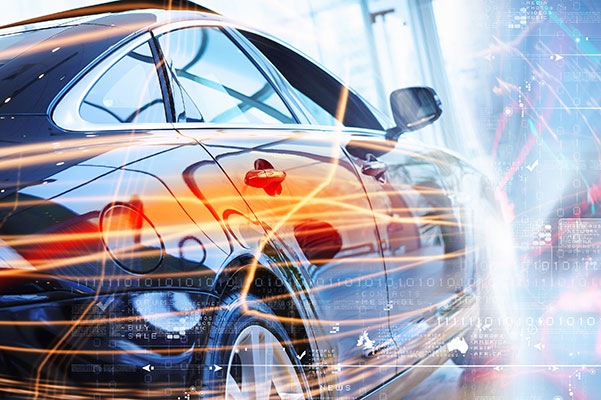 secteur automobile étiquettes industrielles