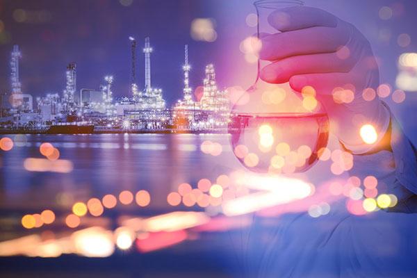 secteur chimie étiquettes industrielles