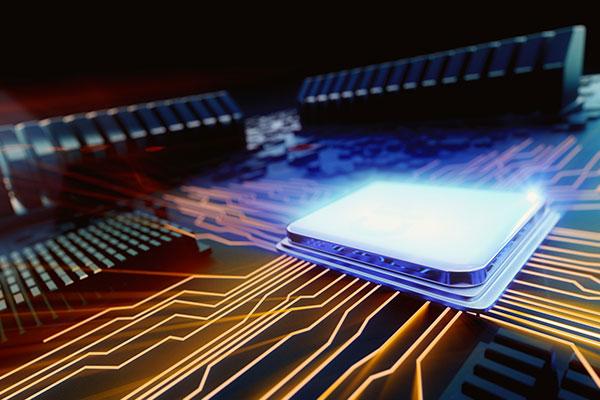 secteur électronique étiquettes industrielles