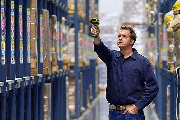 lecteur code-barre industriel logistique